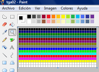 sprite en paint